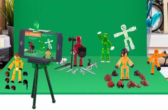 Продам Анимационная мини студия StikBot