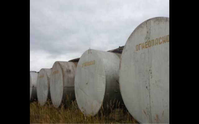 Продам: Емкости металлические б/у резервуары 25м
