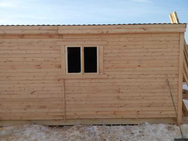 Продам: Бытовка деревянная 5м