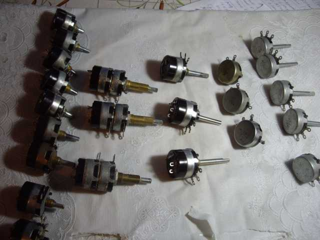 Продам Переменные резисторы для ламповых усилит