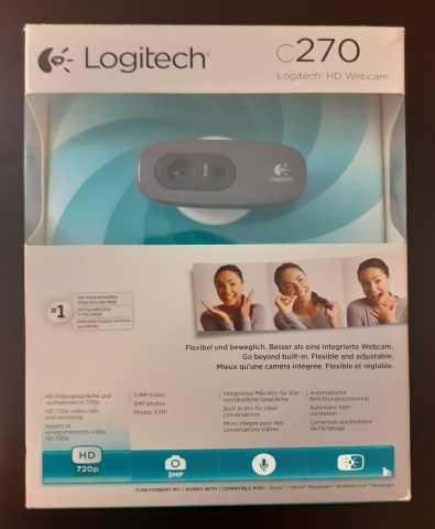 Продам Веб-камера Logitech C270, Black