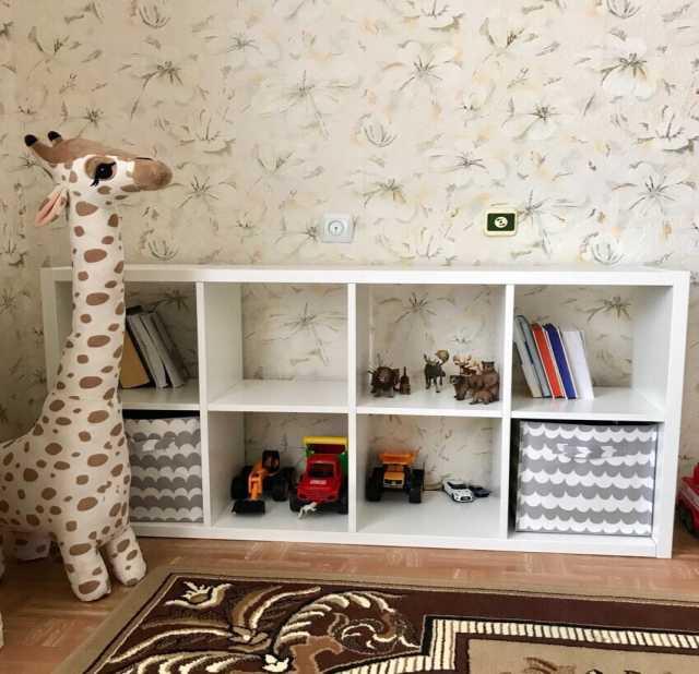 Продам: ФРИДЛЕВ Стеллаж, белый, 66x129 см