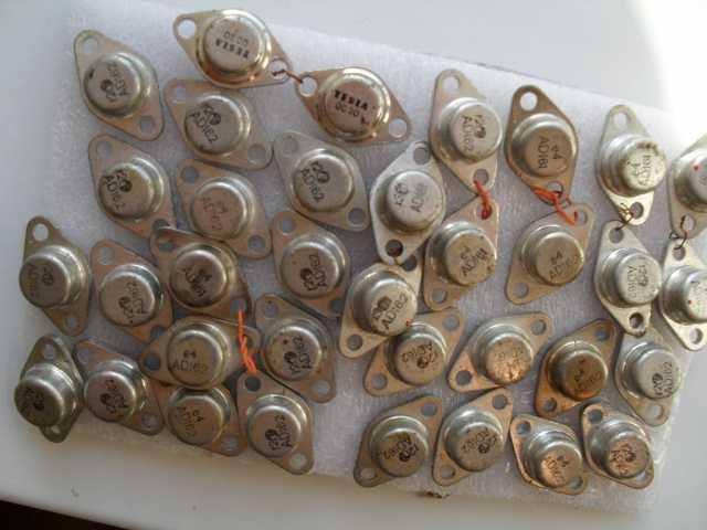 Продам Транзисторы ad161 ad162 усилитель