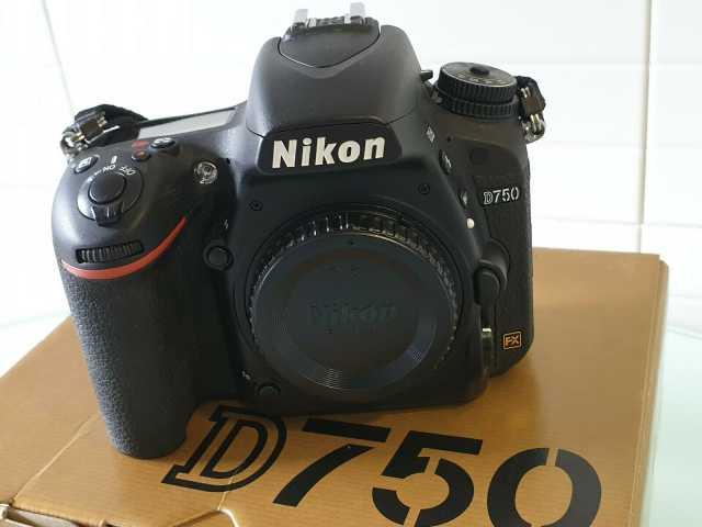 Продам Nikon d750