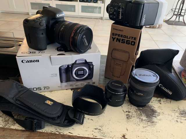 Продам Canon EOS 7D Mark II camera + 15-85mm l