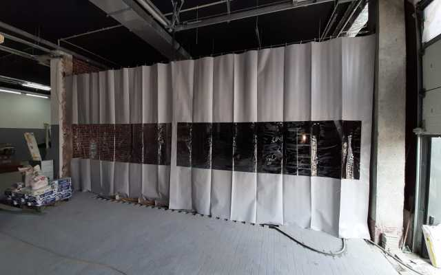 Продам Шторы из пвх ткани на склад