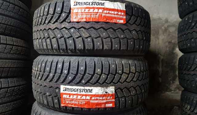 Продам: шипованную японскую резину Bridgestone