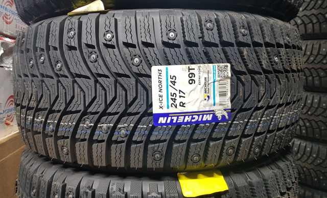 Продам: шипованную зимнюю шину Michelin