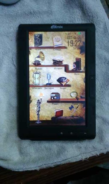 Продам: Электронная книга. Ritmix RBK-429