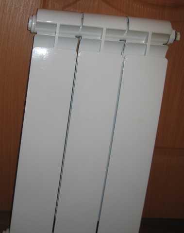 """Продам новый биметаллический радиатор """"Alurad"""""""