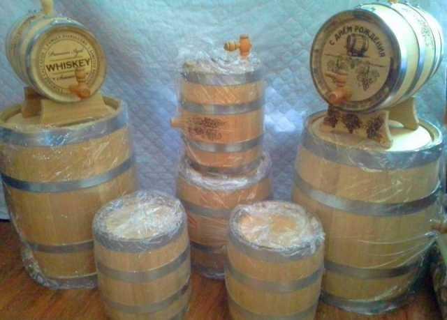 Продам: Дубовые бочки из Кавказского дуба