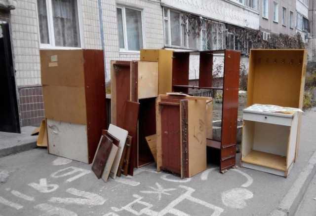 Предложение: Вывоз старой мебели-утилизация