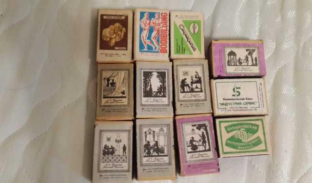 Продам Спичечные коробки со спичками СССР 1985г