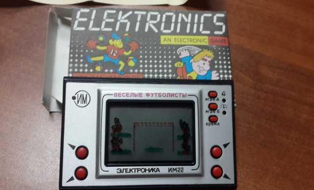 Продам Игра электроника веселые футболисты им22