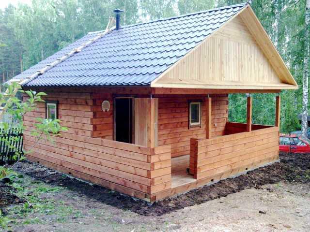 Предложение: Строительство деревянного дома, бани