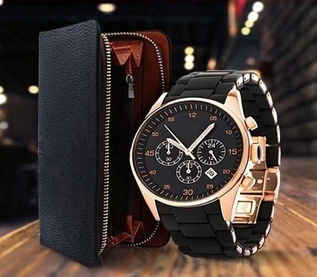 Продам: Комплект часы Emporio Armani и клатч Emp