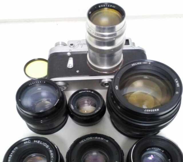 Куплю: Куплю фотоаппараты СССР.Фотобъективы