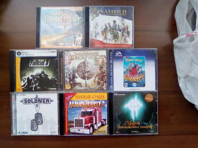 Продам Лицензионные копии компьютерных игр