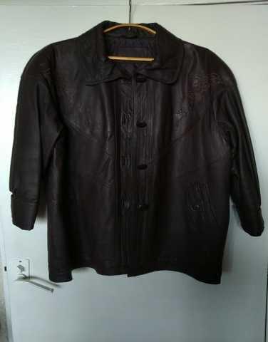 Продам Куртка кожаная женская