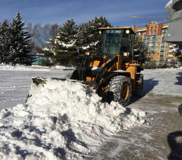 Предложение: Уборка снега с любых территорий 24 часа