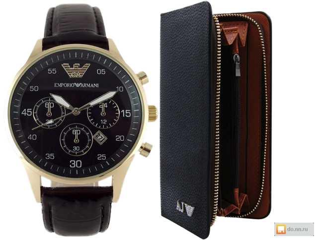Продам Комплект часы Emporio Armani и клатч Emp