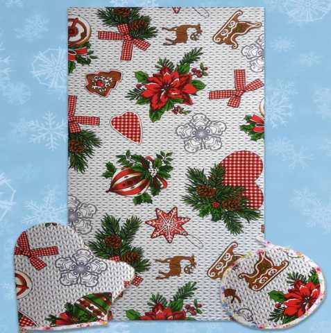 Продам Новогодний набор с полотенцем, опт, Ева