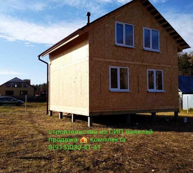 Предложение: Каркасно-щитовые дома. Дом из СИП панеле