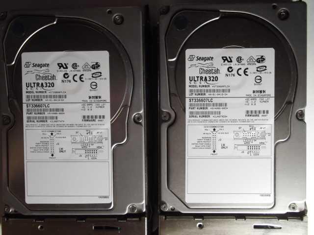Продам Серверные жёсткие диски SCSI