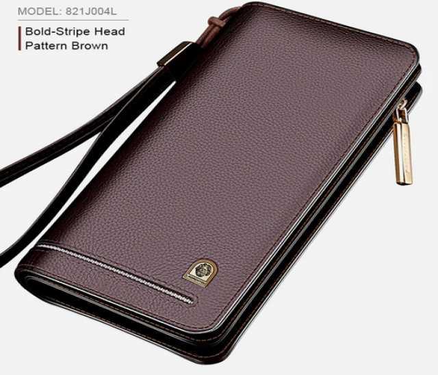 Продам: Мужской кошелек- клатч из натуральной ко