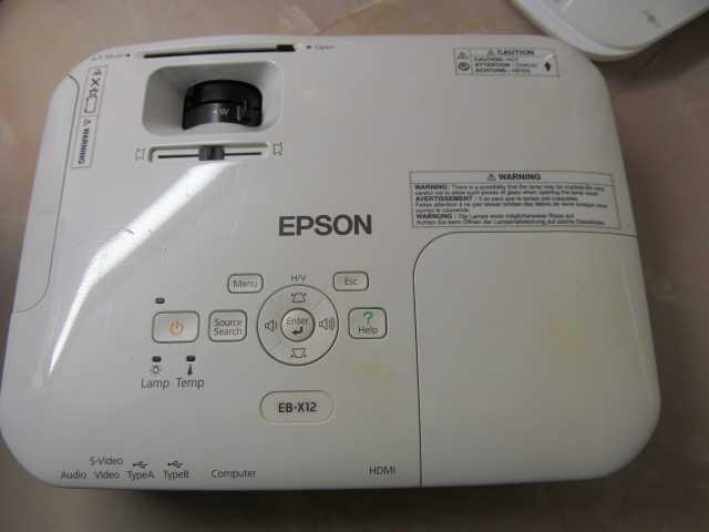 Продам Проектор Epson EB-X12, УТП
