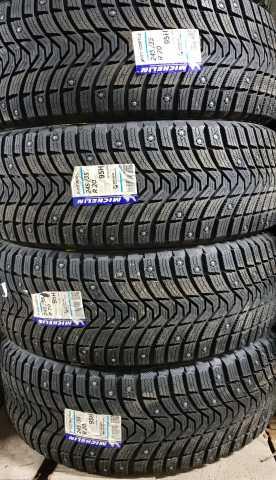 Продам зимние шипованные шины Michelin