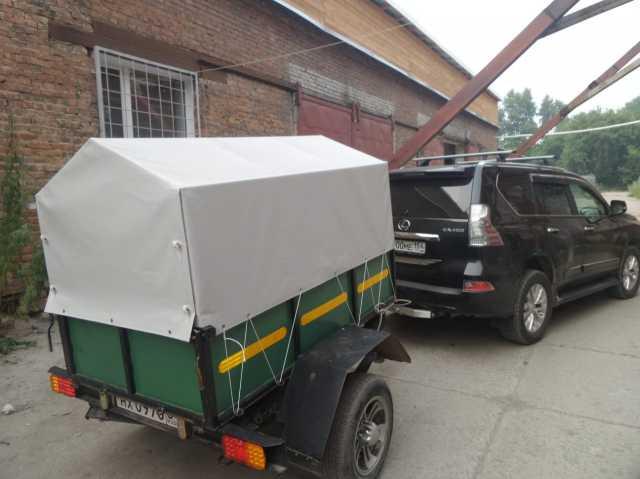 Продам Тенты на прицепы для легковых и грузовых