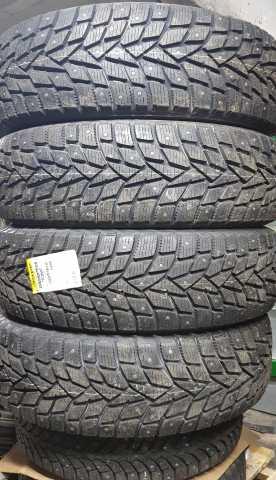 Продам шипованную резину Dunlop