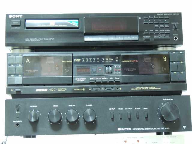 Продам Unitra VS-304, Sony CDP-315, Вега и АС W