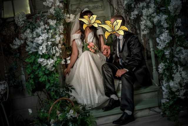Продам: Свадебное платье 48-52 размер