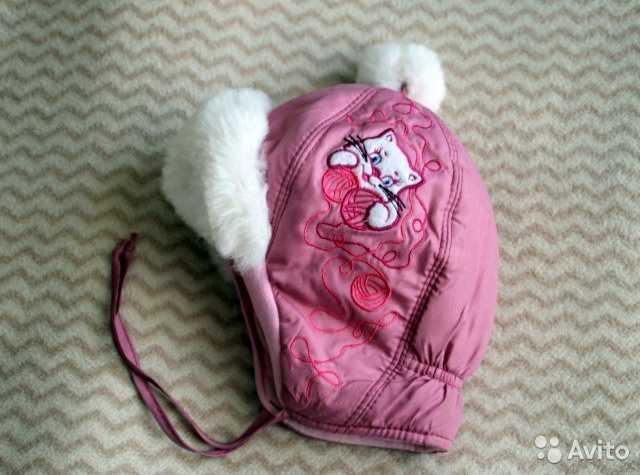Продам Зимняя шапка для девочки, 46 размер