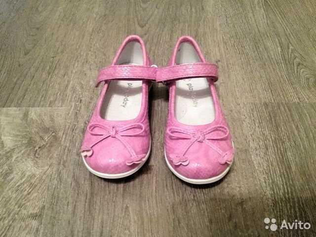 Продам Нарядные туфли для девочки новые, 25-26