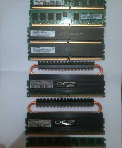 Продам: Планки DDR2 800мгц по 2Гб