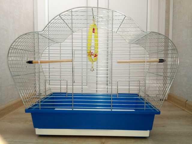 Продам: Клетка для попугая + корм+аксессуары