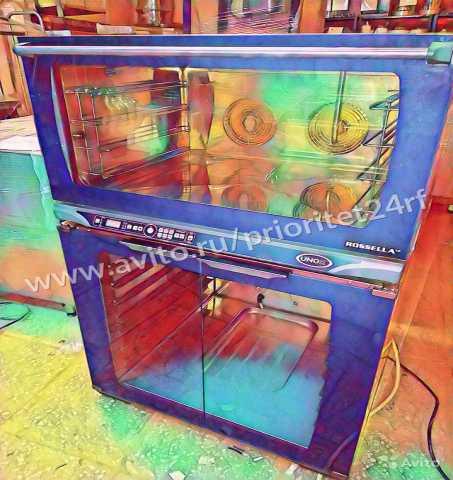 Продам Б/У Конвекционная печь unox XFT 200