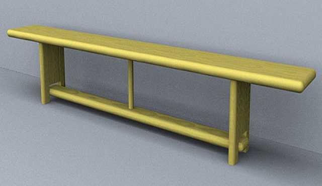 Продам Скамейка гимнастическая L=140 см