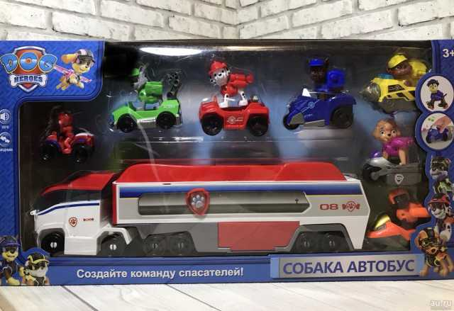 Продам Щенячий патруль набор с грузовиком