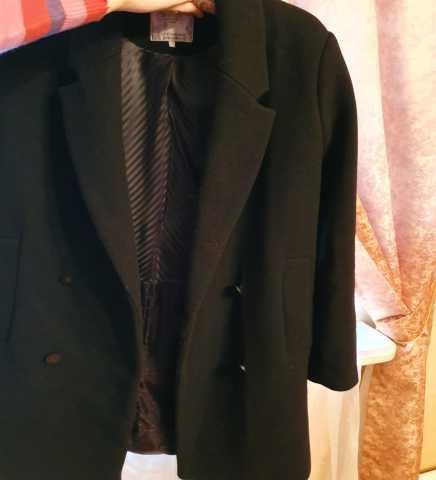 Продам Пальто чёрное,шерстяное,женское