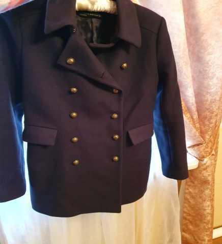 Продам Женское синее пальто,осенне-зимнее