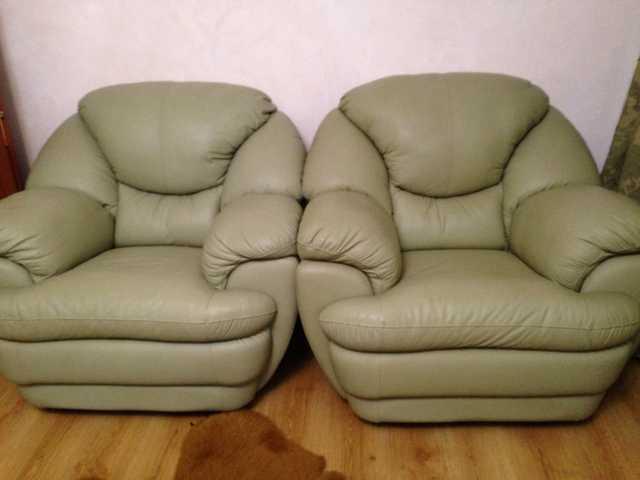 Продам: Кожаные кресла