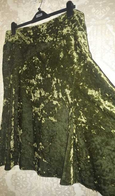 Продам Бархатная юбка