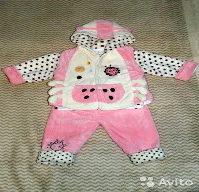 Продам: Утепленный костюм для девочки 1-2 года