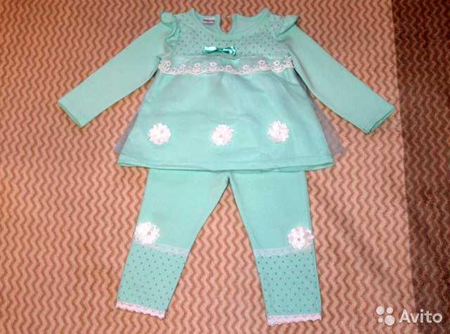 Продам Нарядный костюмчик для девочки 1-2 года