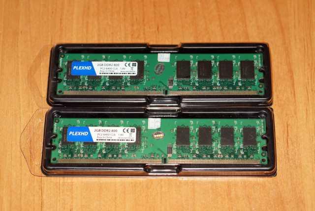 Продам Оперативная память DDR2 4GB 800mhz