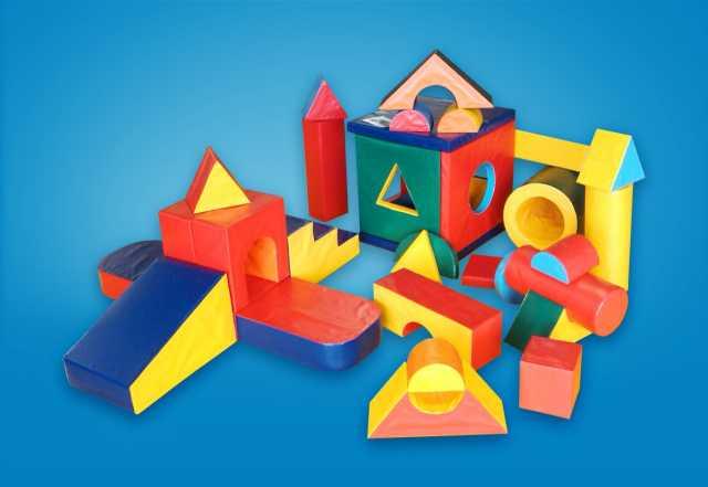 Продам: Детские мягкие конструкторы и модули